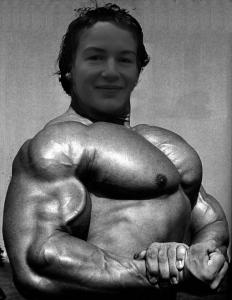 Ramon nach seinem erfolgreichen Training